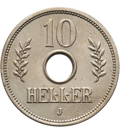 Niemiecka Afryka Wschodnia 10 heller 1909
