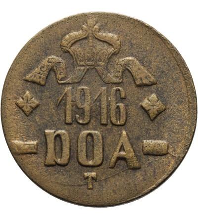 Niemiecka Afryka Wschodnia 20 heller 1916