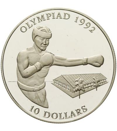 Wyspy Salomona 10 dolarów 1992, Bokser