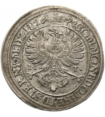 Śląsk XV krajcarów 1694, Oleśnica