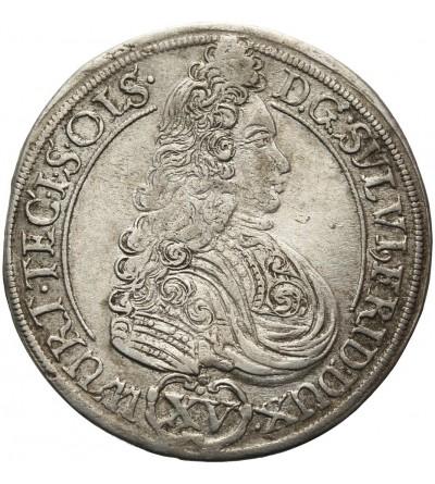 Śląsk. 15 krajcarów 1694, Oleśnica