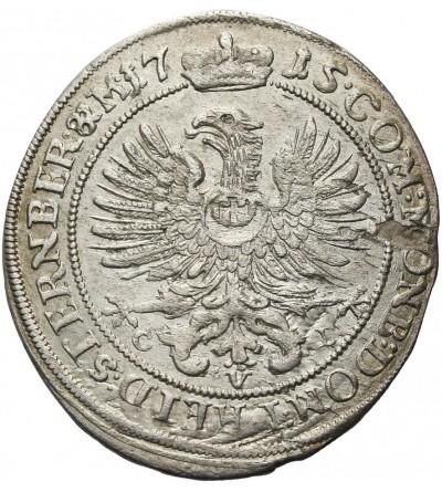 Śląsk 6 krajcarów 1715, Oleśnica