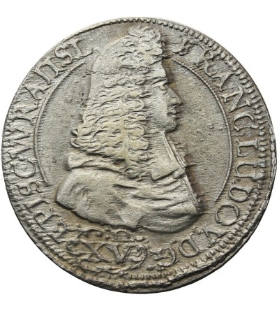 Śląsk 15 krajcarów 1694, Nysa