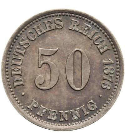 50 fenigów 1876 A