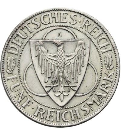 Weimar 5 Mark 1930 A, Rheinstrom
