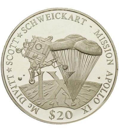 Liberia 20 dolarów 2000