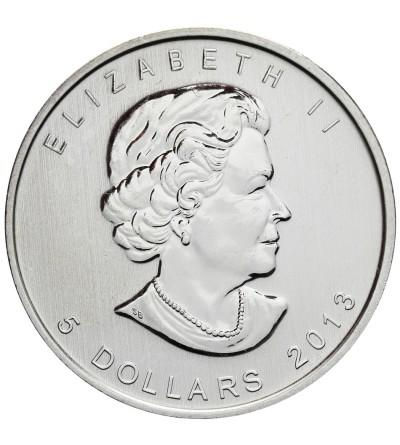 Kanada 5 dolarów 2013, antylopa