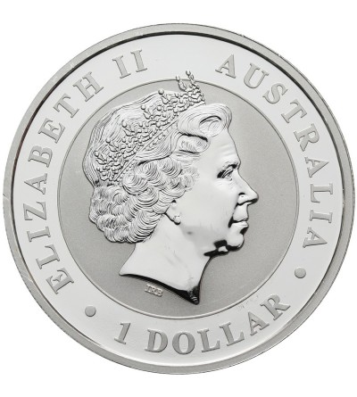 Australia 1 dolar 2014, Kookaburra