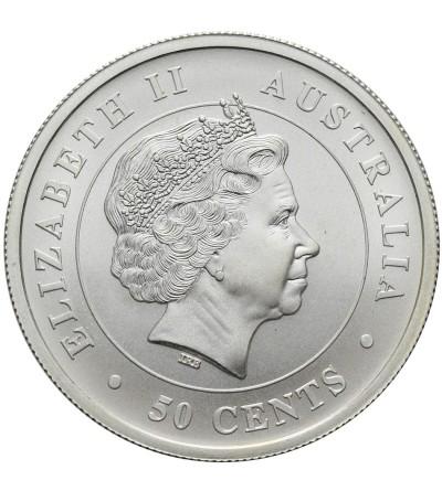 Australia 50 centów 2014, rekin