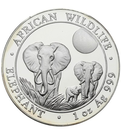 Somalia 100 Shillings 2014, Elephants