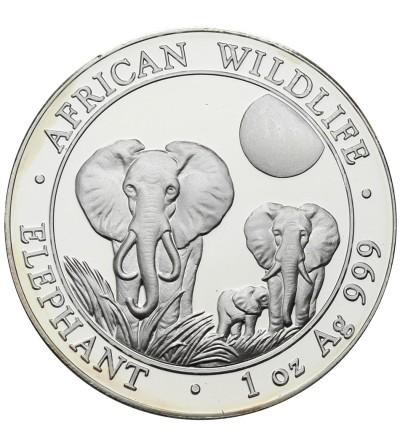 Somalia 100 szylingów 2014, słonie