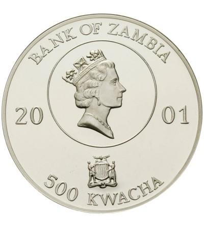 Zambia 500 kwacha 2001