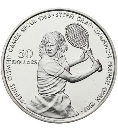 Niue 50 dolarów 1987, Steffi Graf