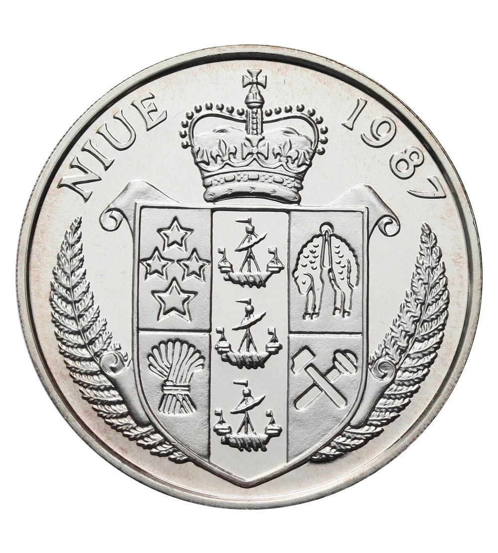 Niue 50 dolarów 1987, Boris Becker