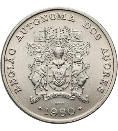 Azores 25 Escudos 1980