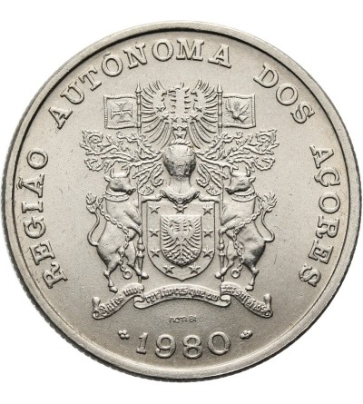 Azory 25 Escudos 1980