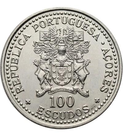 Azory 100 Escudos 1986