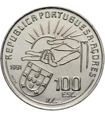 Azory 100 Escudos 1991