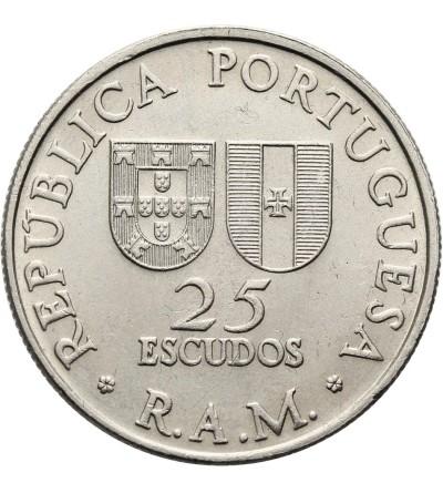 Madera 25 Escudos 1981