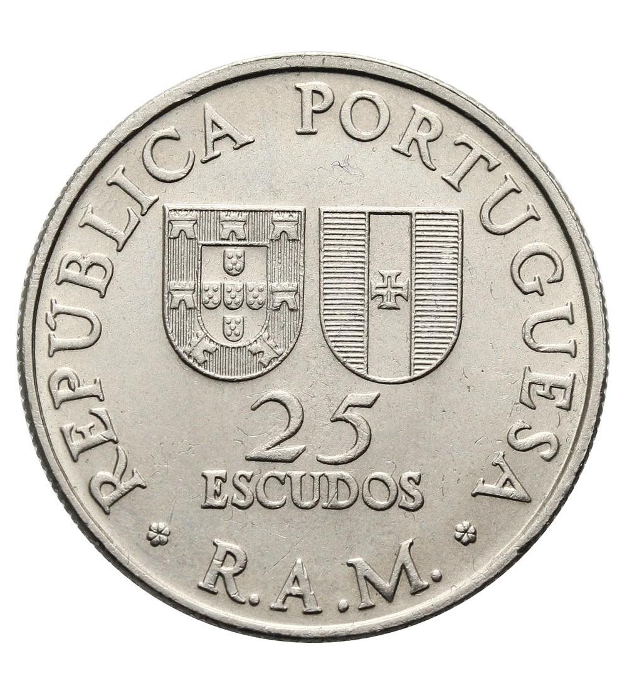 Madeira 25 Escudos 1981