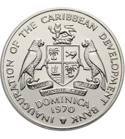 Dominika 4 dolary 1970 F.A.O. - Proof
