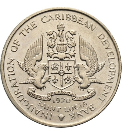 Saint Lucia 4 Dollars 1970 F.A.O.