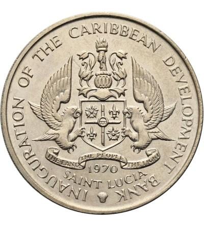 Wyspa Św. Łucji 4 dolary 1970 F.A.O.