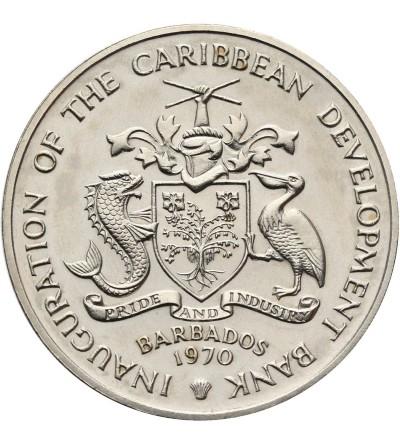 Barbados 4 Dollars 1970 F.A.O.