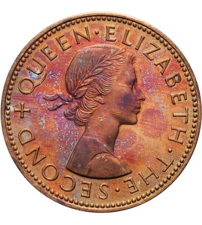 Nowa Zelandia 1/2 Penny 1965 - Prooflike