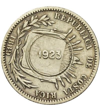 Kostaryka 50 centimos 1923 / 1889