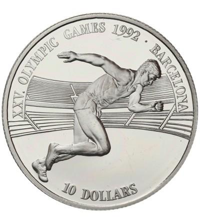 Wyspy Cooka 10 dolarów 1990, Olimpiada 1992