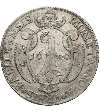 Szwajcaria talar 1640, Bazylea