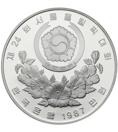 South Korea 10000 Won 1987, XXIV Olimpics - Seul
