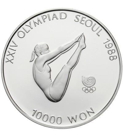Korea Południowa 10000 won 1987, XXIV Olimpiada - Seul