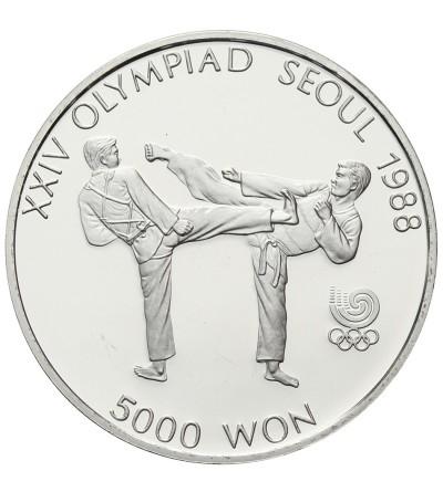 Korea Południowa 5000 won 1987, XXIV Olimpiada - Seul