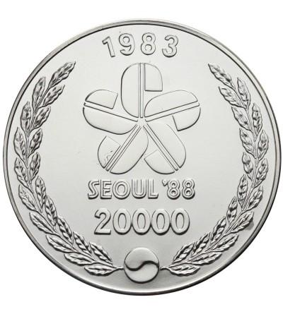 South Korea 20000 Won 1983, XXIV Olimpics - Seul