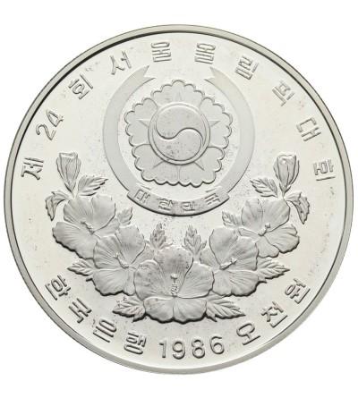 Korea Południowa 5000 won 1986
