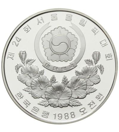 Korea 5000 won 1988, Seul 1988