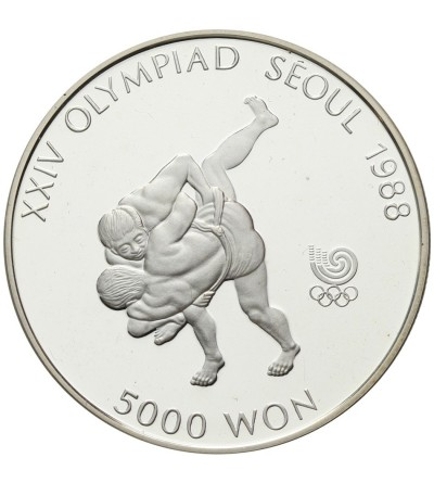 Korea 5000 won 1988, Seul 1988
