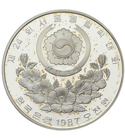 Korea 5000 won 1987 - Olimpiada w Seulu