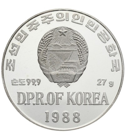 North Korea 500 Won 1988, Winter Olimpics