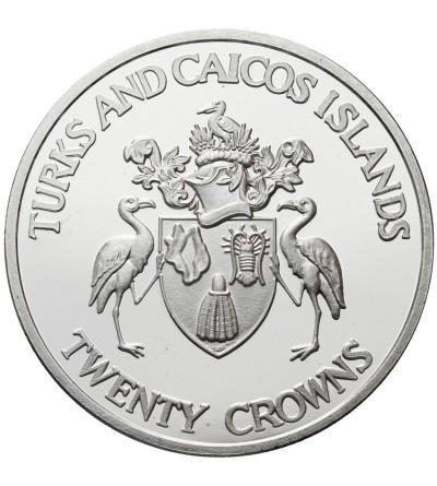 Turks & Caicos Islands 20 koron 1992, Olimpiada