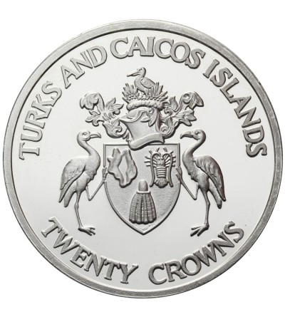 Turks & Caicos Islands 20 Crowns 1992, Olimpics