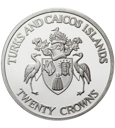 Turks i Caicos Islands 20 koron 1992, Olimpiada