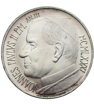 Watykan 500 lire 1981 AN III, Jan Paweł II