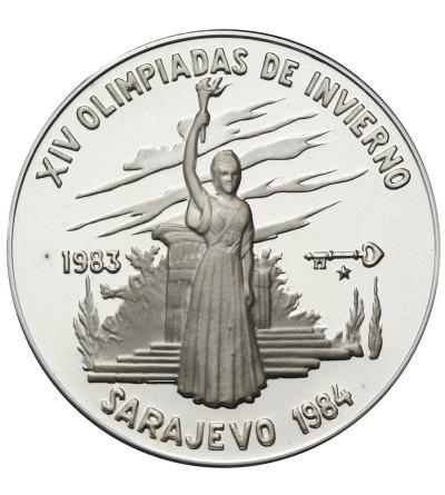 Kuba 5 pesos 1983, XIV Olimpiada