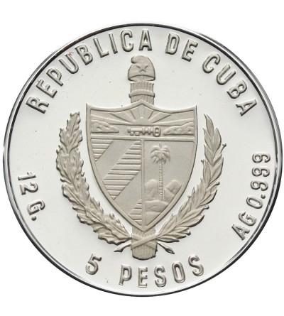 Cuba 5 Pesos 1983, XIV Olimpics
