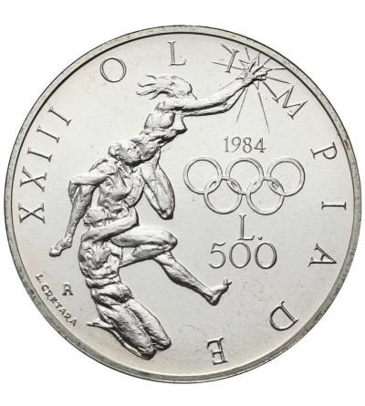 San Marino 500 lire 1984
