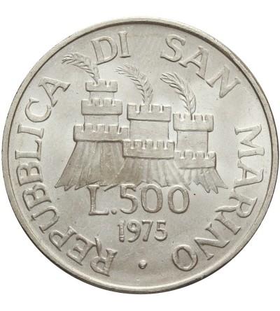 San Marino 500 lire 1975