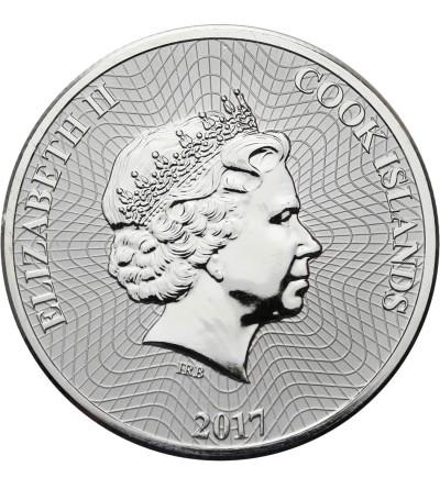 Wyspy Cooka 1 dolar 2017
